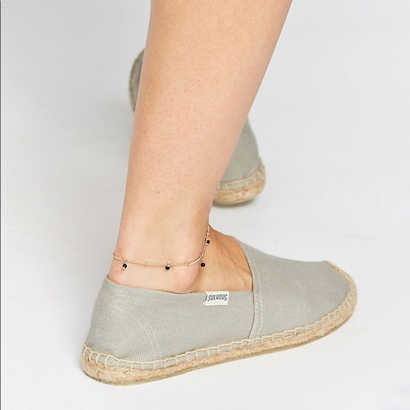 f707926d67c Soludos Original Dali Grey Espadrille Flat Shoe. M 5ae3bdd084b5cee734d9a1d2